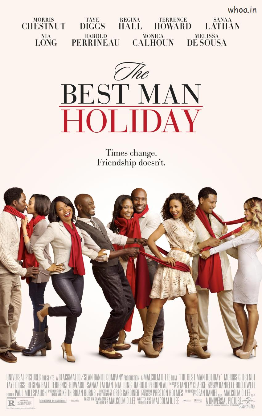 Film The Holiday Hollywood Movie Best Man Holiday Movie Poster
