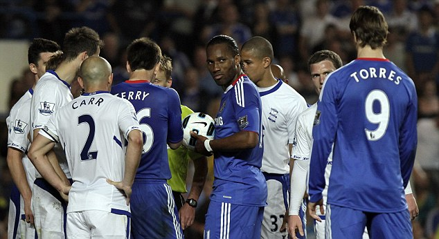 Retro Tv Bank Caption This: Didier Drogba Gives Fernando Torres The Side