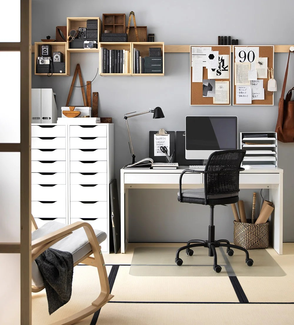 Home Office Ideen Deko Funktional Kreativ Intelligent - Arbeitszimmer Ideen