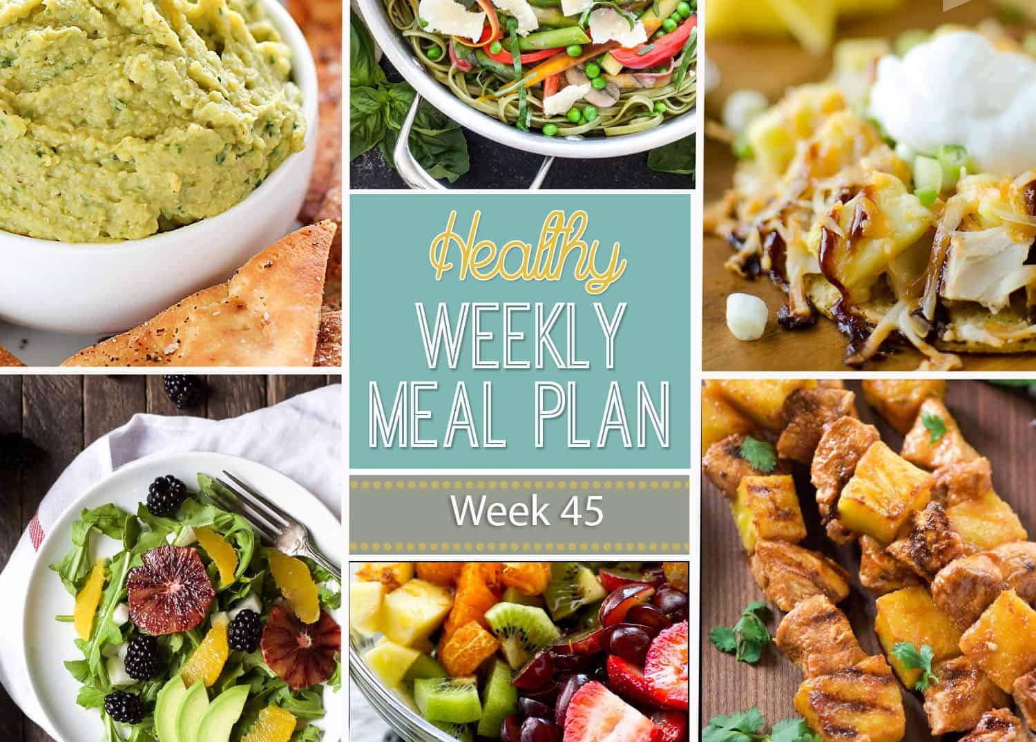 Plan Snack Cuisine Healthy Meal Plan Week 45 With Salt And Wit