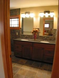Whole Builders bath remodel