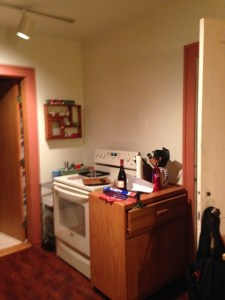 Before remodel - stove