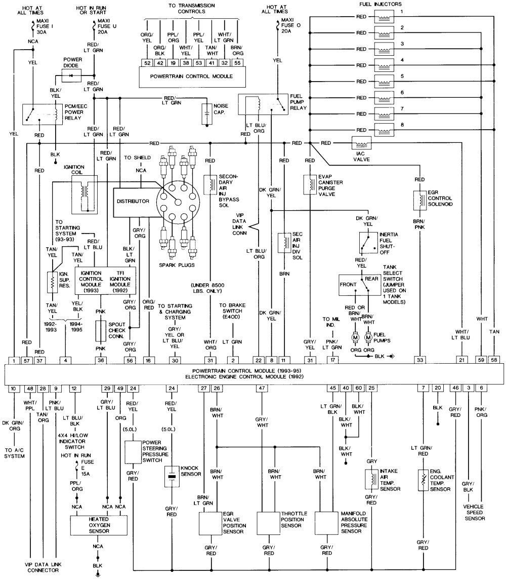 1994 f250 wiring diagram wiring diagram library 1994 Ford F 150 Ignition Wiring