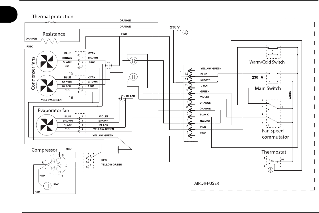 wiring diagram for duo therm dometic ac