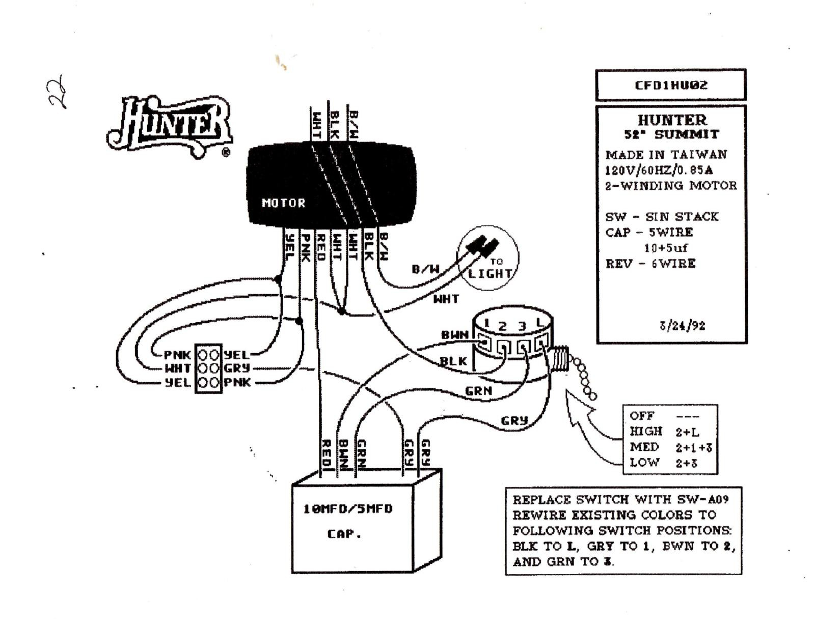 wire ceiling fan switch wiring diagram hunter ceiling fan light wiring