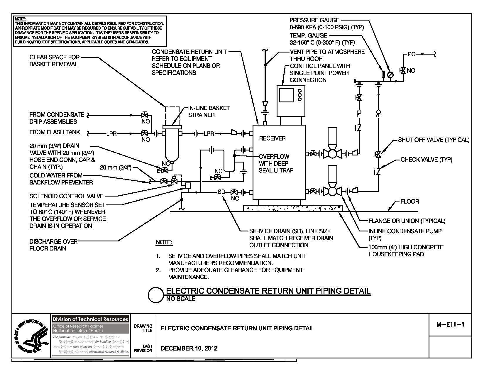 wiring diagram for condensate pump