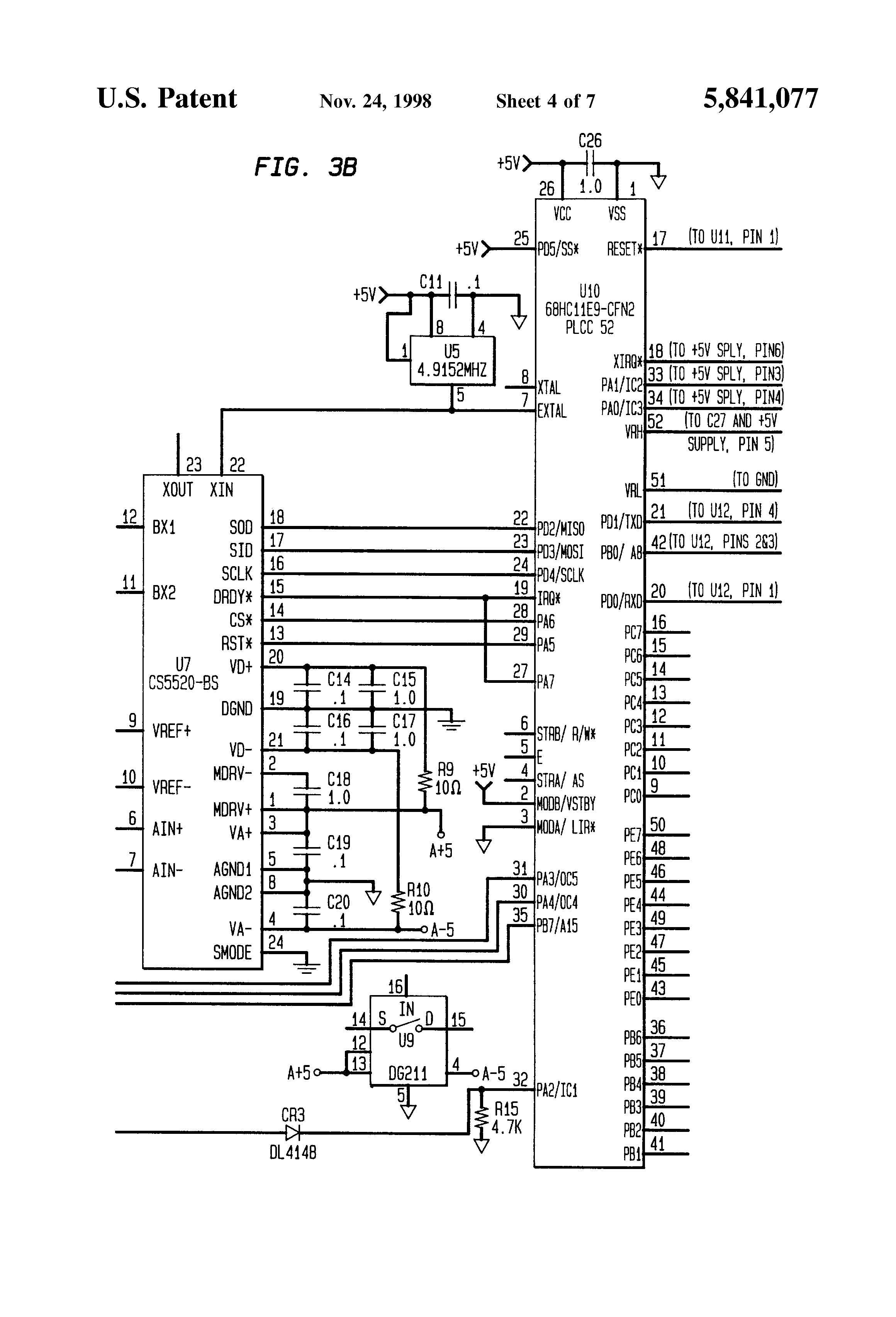load cell interface circuit
