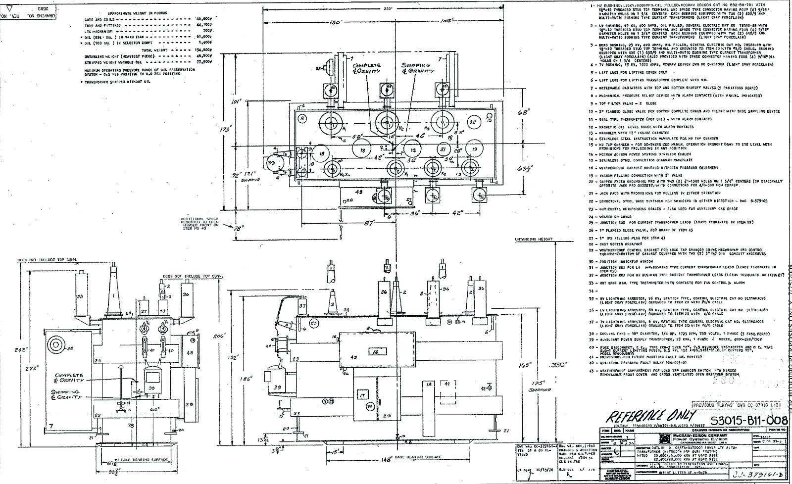wiring diagram single phase transformer
