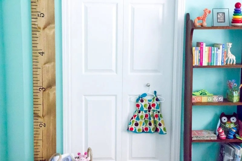 Tutorial Giant Ruler Growth Chart Wholefully