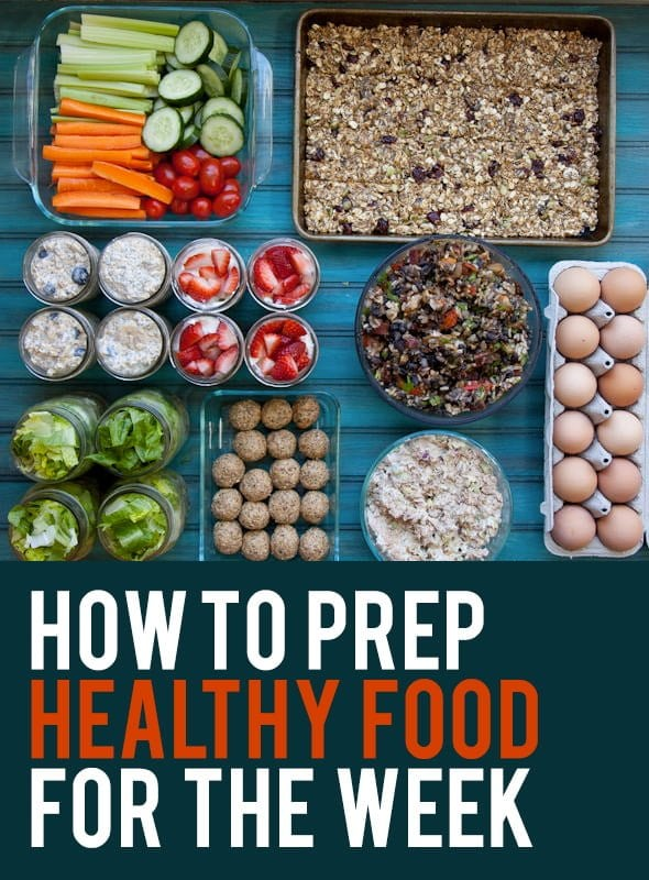 how i prep food for the week - Wholefully - how to plan weekly meals for two