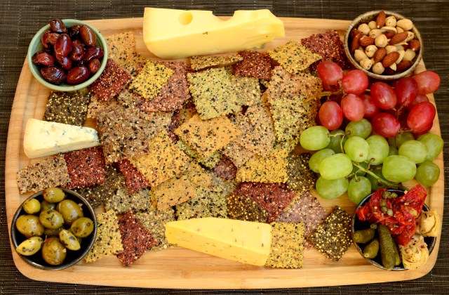 12 cheese olive board
