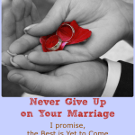 Never Give Up on Your Marriage + WholeHearted Wednesday #135