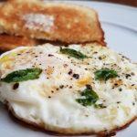 Egg with Basil