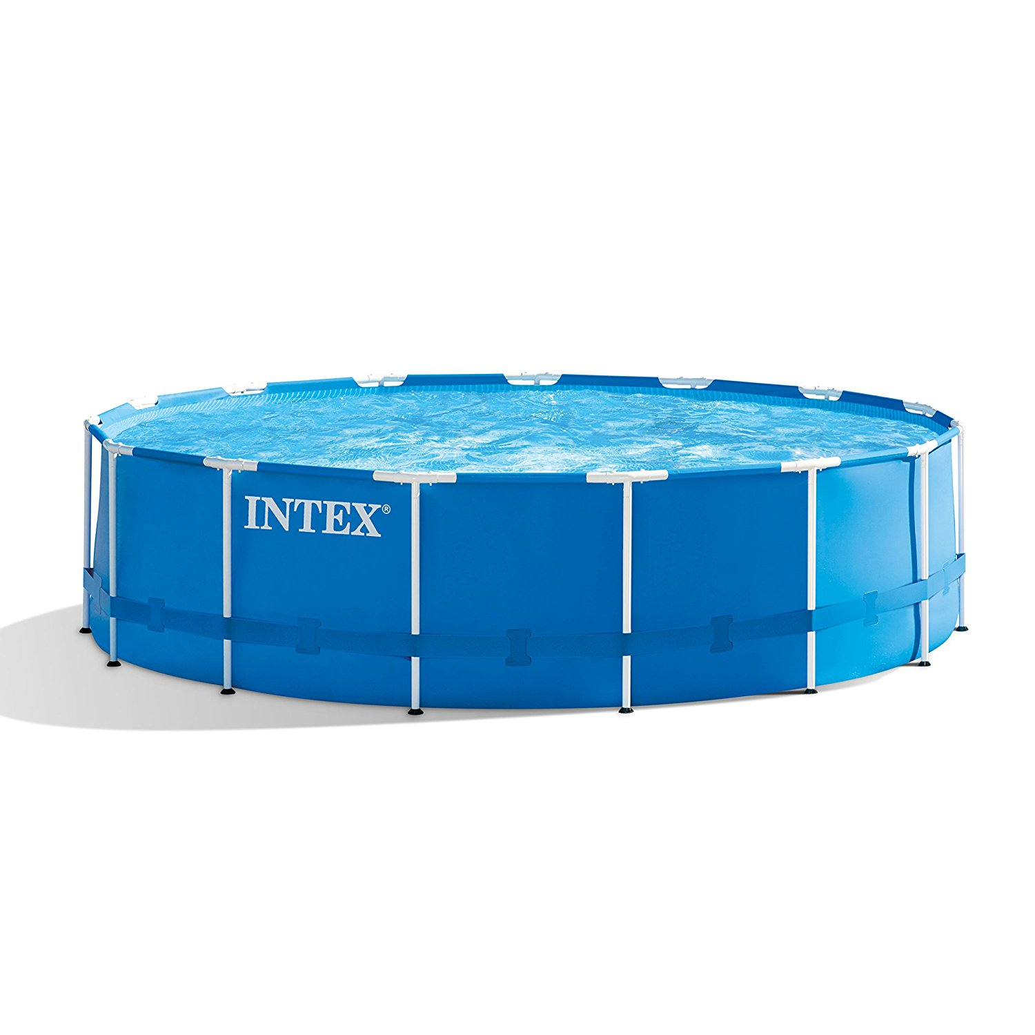 Frame Pool Test Intex 28241eh 15ft X 48in Metal Frame Pool Set With Filter