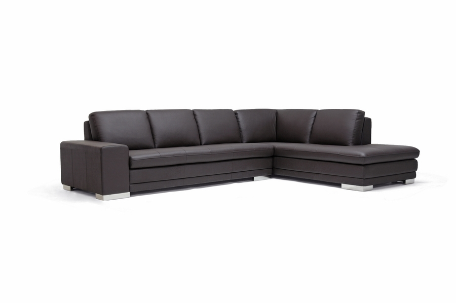 Theater With Sofa Seats Callidora Dark Brown Leather-leather Match Sofa Sectional