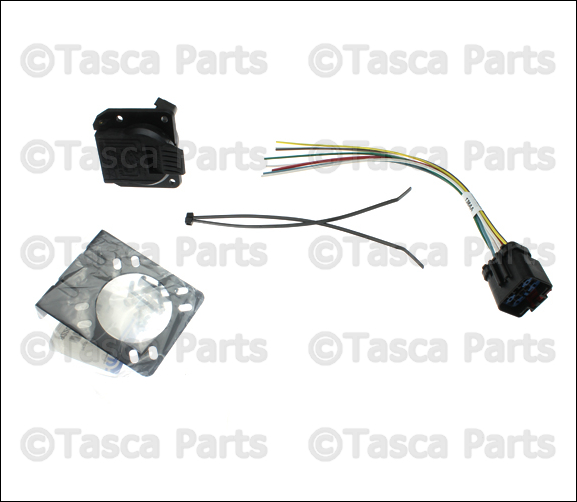 dodge trailer tow wiring harness