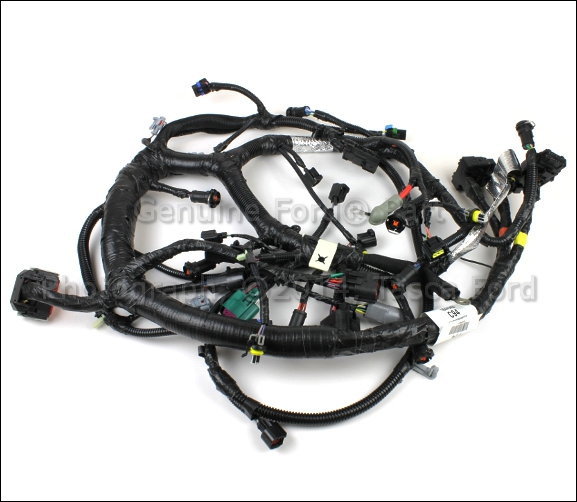 Ford 6 0 Wire Harness Wiring Diagram