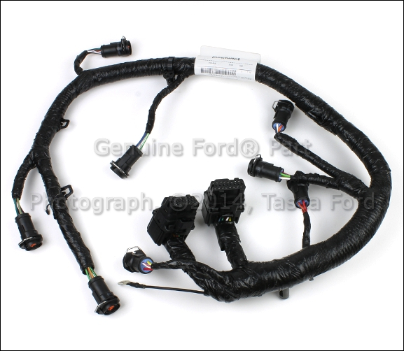 OEM FUEL INJECTOR WIRE WIRING HARNESS 2005-2007 FORD F250 F350 F450