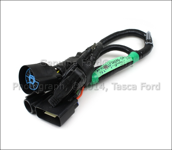 OEM 7 PIN CONNECTOR TO TRAILER WIRING HARNESS 05-07 FORD F-150 #5L3Z