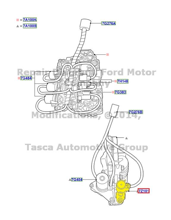 2006 mazda 3 transmission shift solenoid