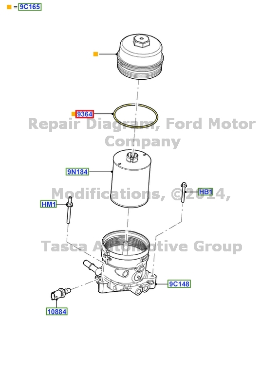 ford f 250 6 0 fuel filter
