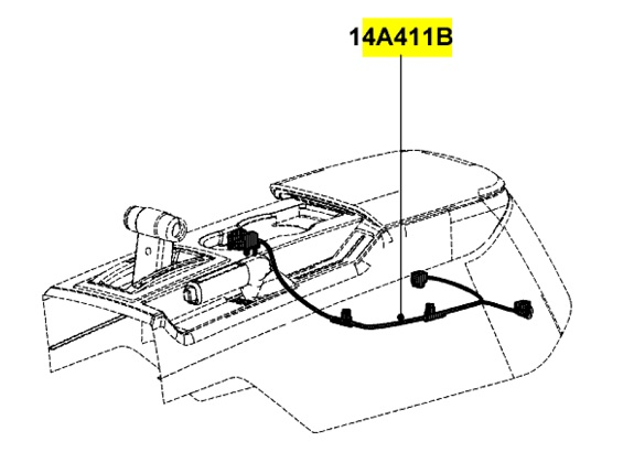 1955 ford mustang center console