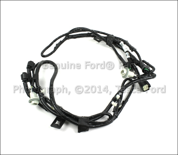 rear wiring harness on a ford f 250