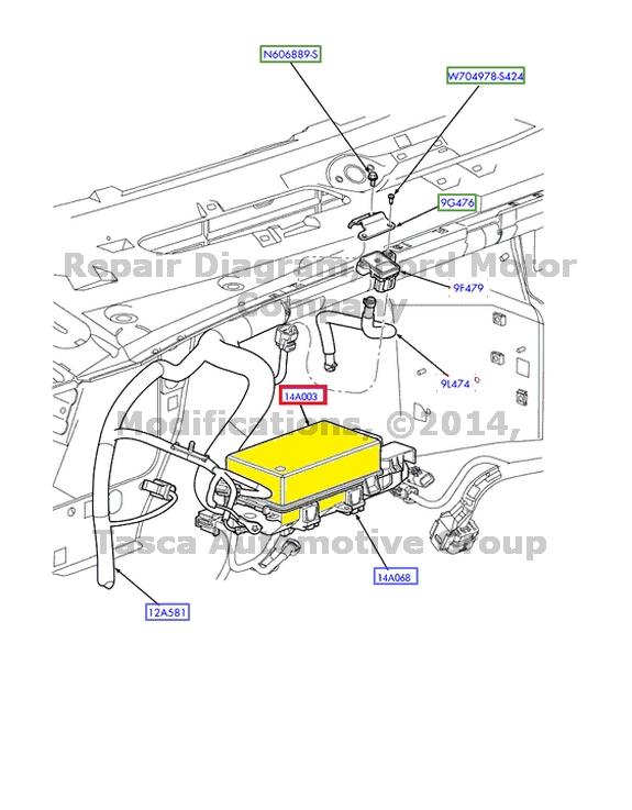 2013 escape headlight wiring diagram