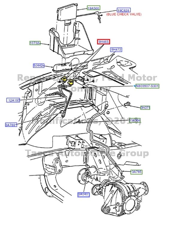 2004 ford f 150 engine diagram