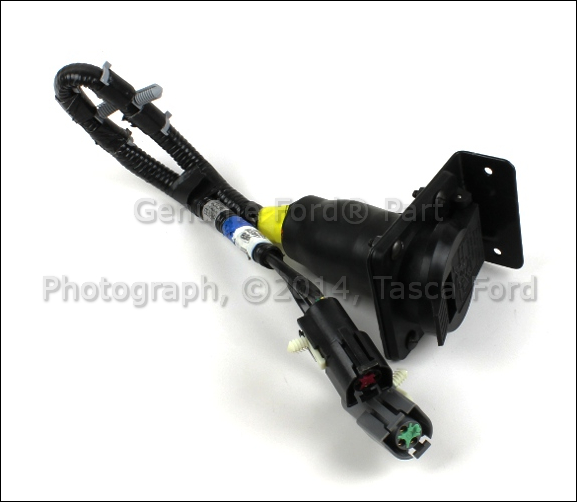 BRAND NEW FORD OEM 7 PIN CONNECTOR TRAILER WIRING HARNESS FEED #F6TZ