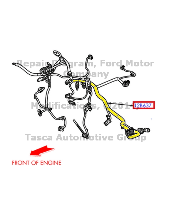 ford f250 engine wiring harness