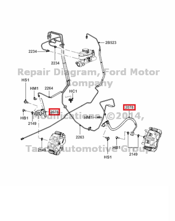 1990 Ford Ranger Brake Line Diagram wwwpicswe