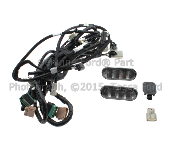 ford cab light wiring harness