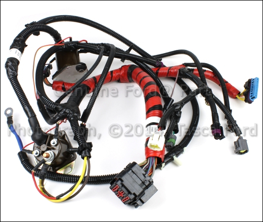 ford 7 3 injector wire harness