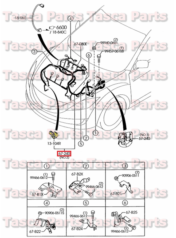mazda 3 wiring harness problems