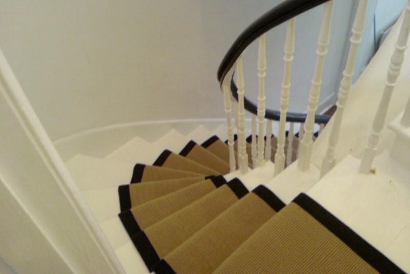 Stair Runner Jute Boucle 75mx55cm Or 65cm Wholesale Carpets
