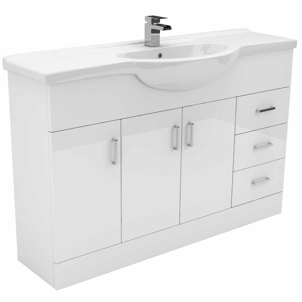 1200mm Vanity Units Alexander James 1200mm Vanity Unit