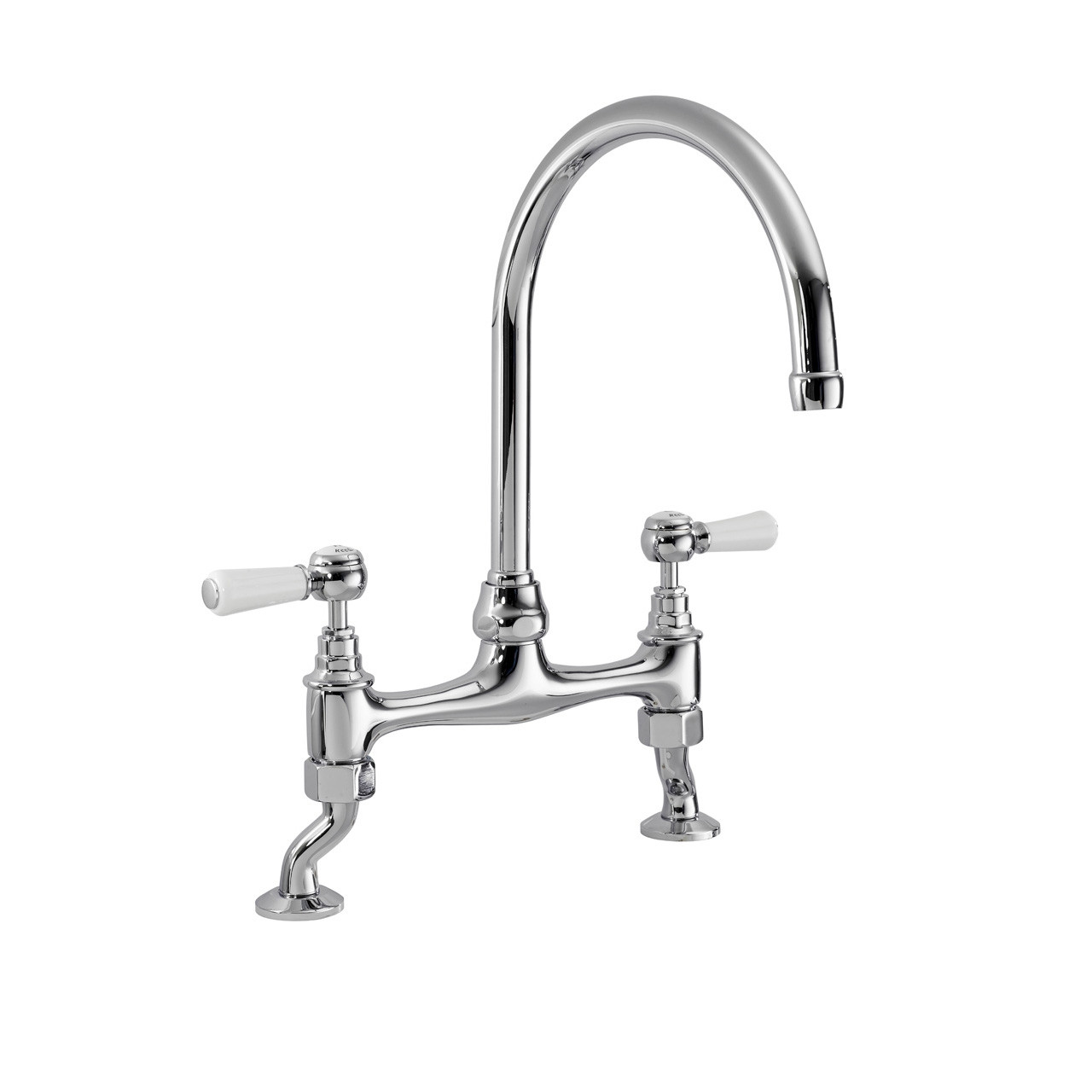 Kitchen Mixer Tap Nuie Bridge Kitchen Sink Mixer Tap With Topaz Levers Kb317