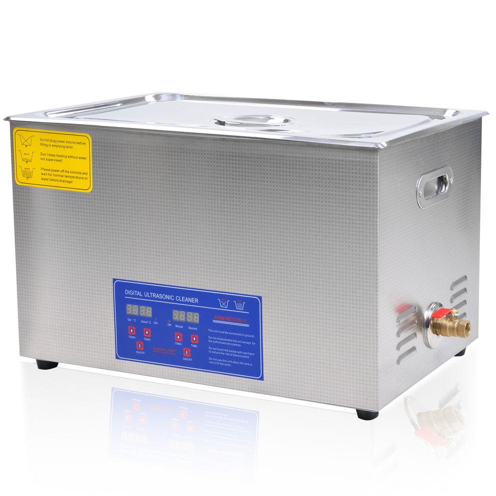 30 Liter Digital Ultrasonic Cleaning Machine Stainless