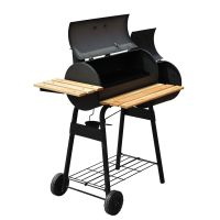 48 Inch Charcoal Barbecue Grill Patio Smoker