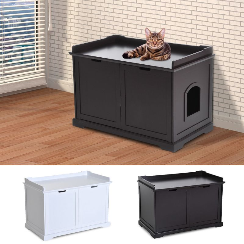 Large Of Litter Box Cabinet