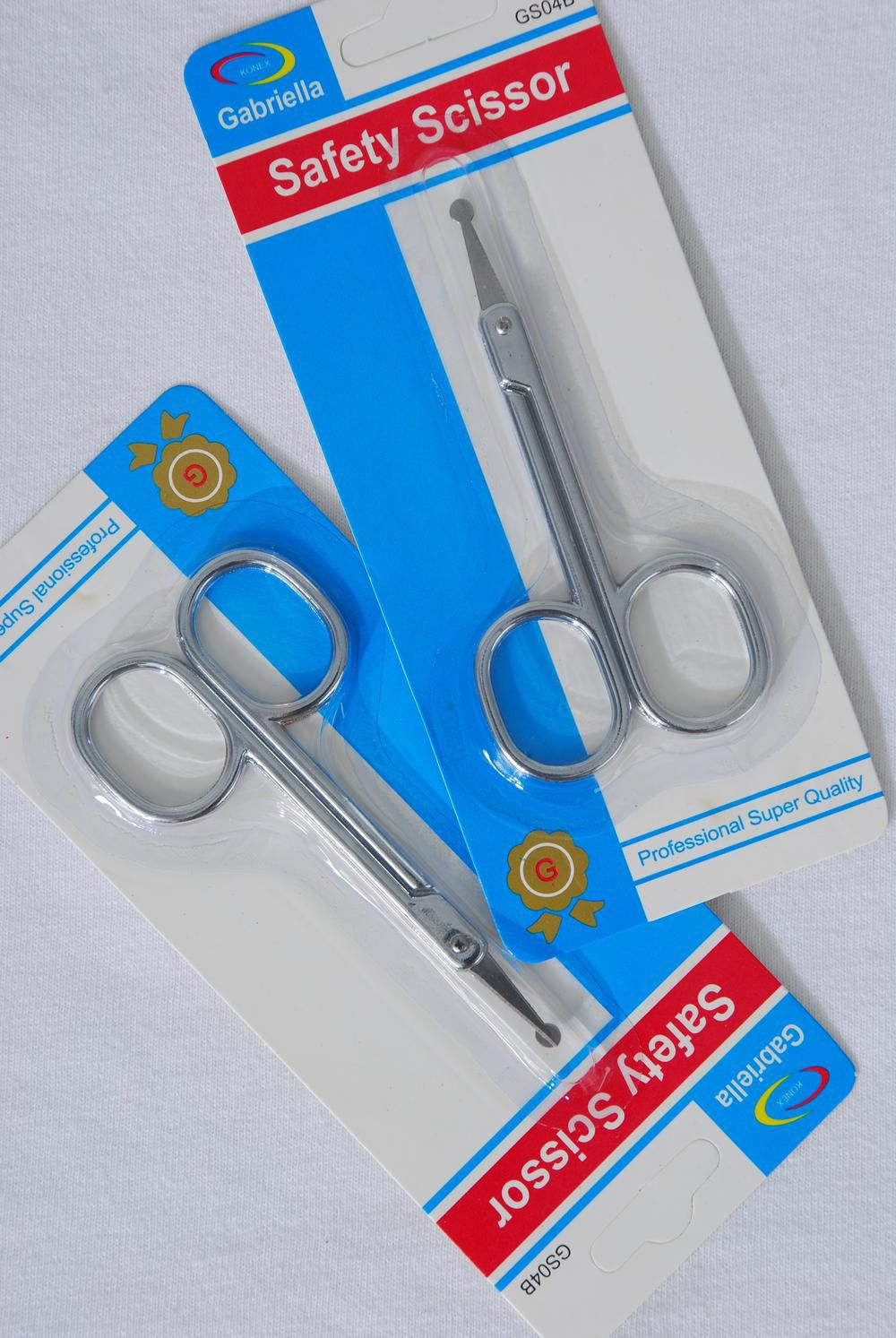 Wholesale Western Jewelry Supplies Safety Scissor Blaster Card Dz Blister Card Upc Code 313