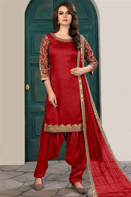 Baby Maxi Dress Designer Classic Traditional Patiala Salwar Kameez