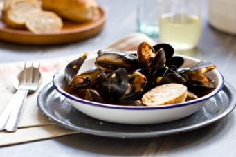 Tomato Mussels