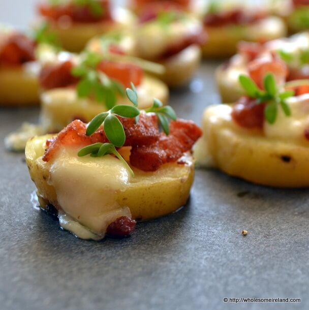Potato & Bacon Canape - Wholesome Ireland - Irish Food & Parenting Blog