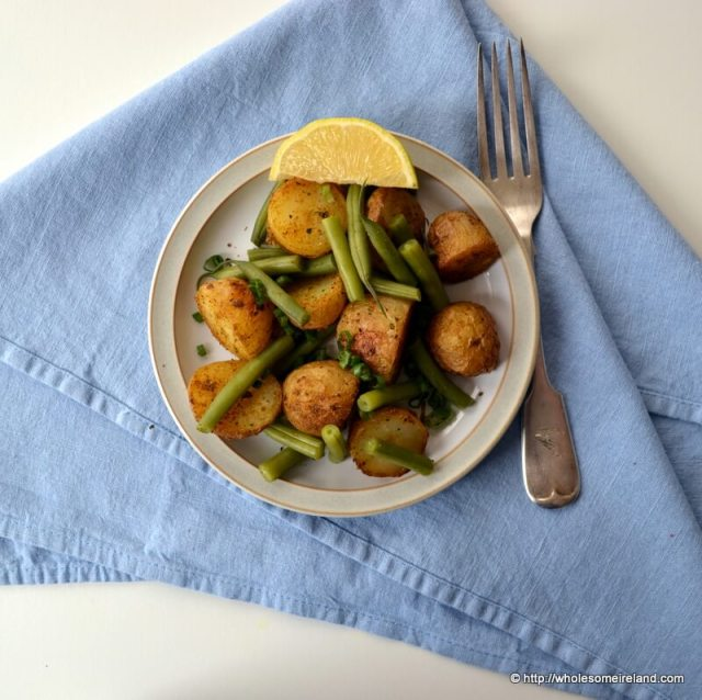 Spice Crusted Potatoes - Wholesome Ireland - Food & Parenting Blog