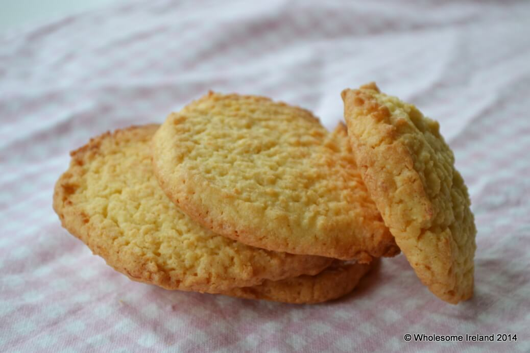 Coconut Cookies, easy to bake from Wholesome Ireland
