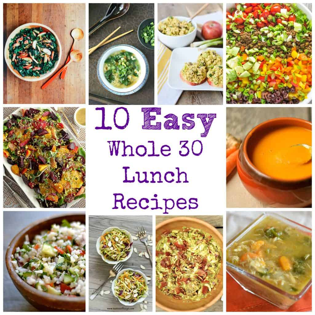 30 Minuten Küche Easy Cooking 10 Easy Whole 30 Lunch Recipes - Wholesomelicious