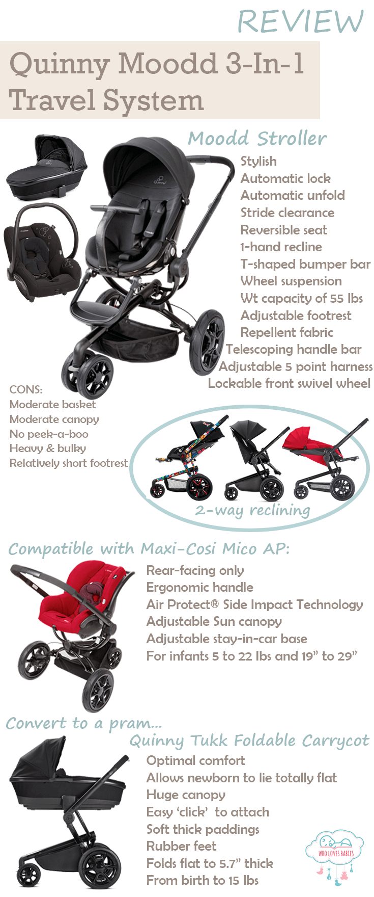 Car Seat Stroller Travel System Reviews Stroll And Travel In Style With Quinny Moodd Travel System