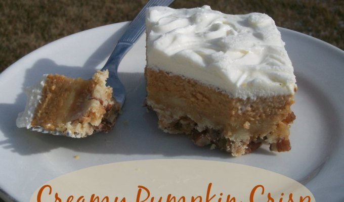 Throw Back Thursday ~ Creamy Pumpkin Crisp
